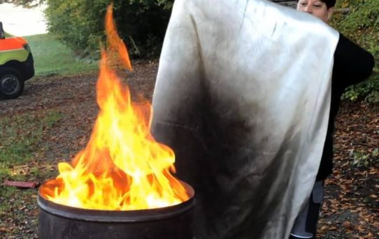 Hilfe es brennt - ein heisse Weiterbildung für unser Waldspielgruppenteam