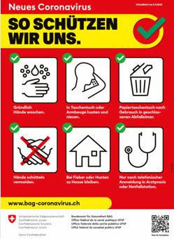 Coronavirus - so schützen wir uns und Ihre Kinder davor