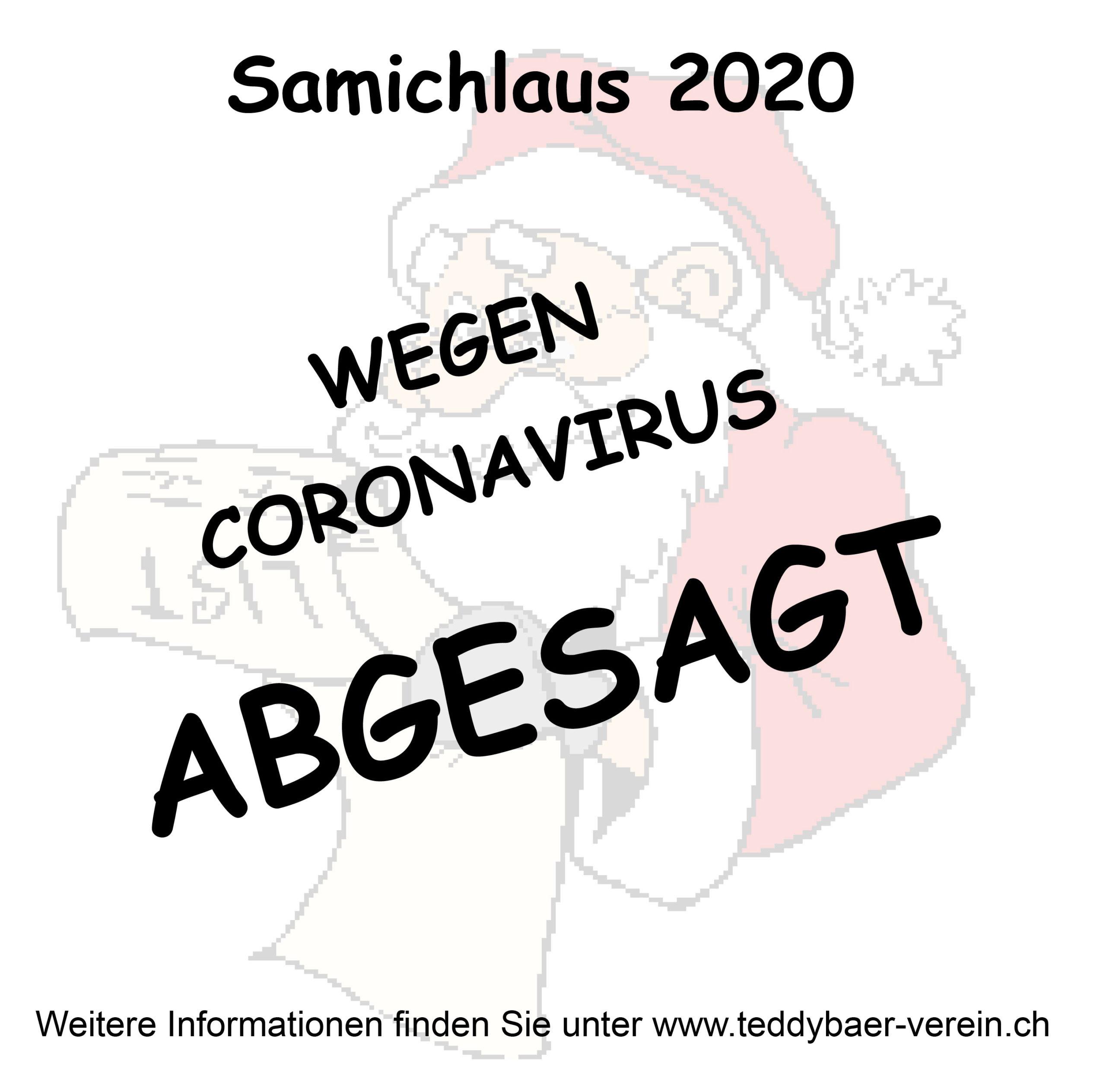 Samichlaus abgesagt